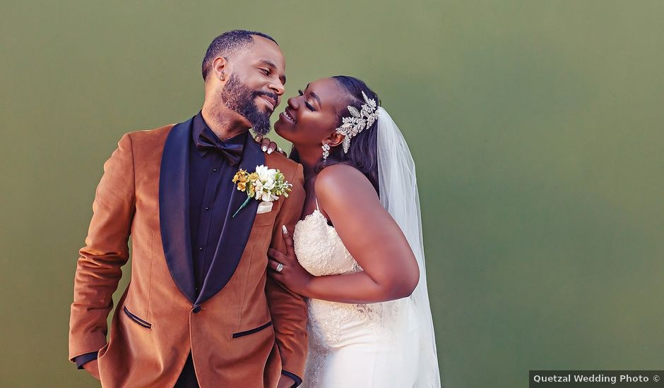 Laquam and Amber's Wedding in Cancun, Mexico