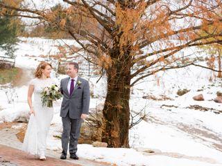 The wedding of Lauren and David