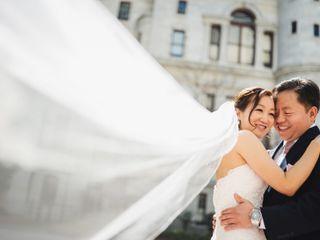 The wedding of Elisa and John