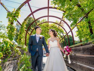 The wedding of Helen and Eric