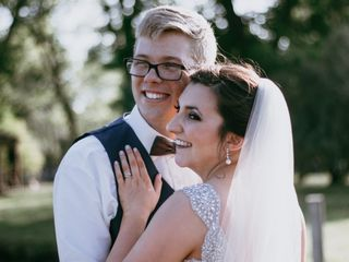 The wedding of Madalyn and Danny