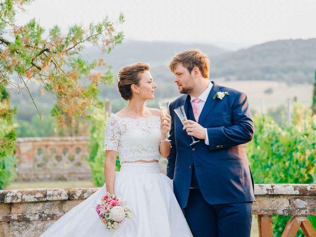 The wedding of Vittoria and Jason