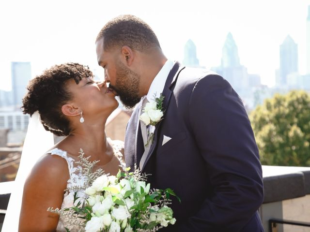 The wedding of Candace and Askia