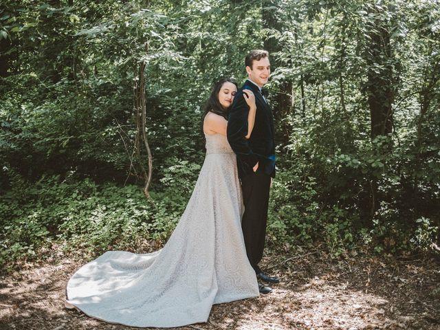 The wedding of Elizabeth and Alex