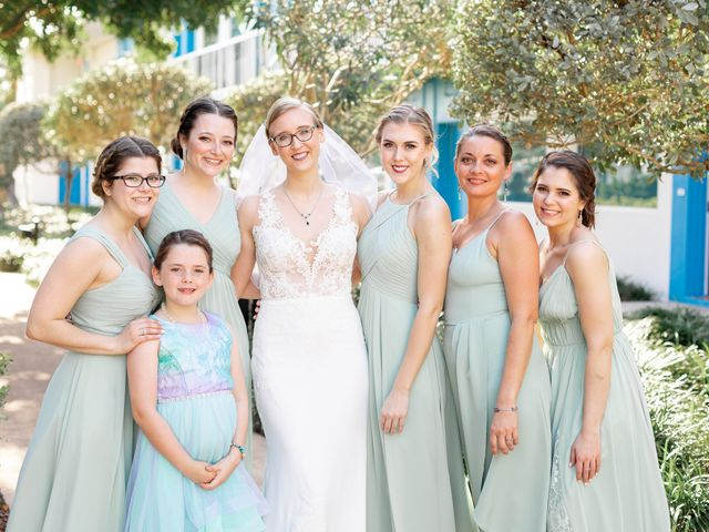 Justin and Hillary's Wedding in St. Pete Beach, Florida 3