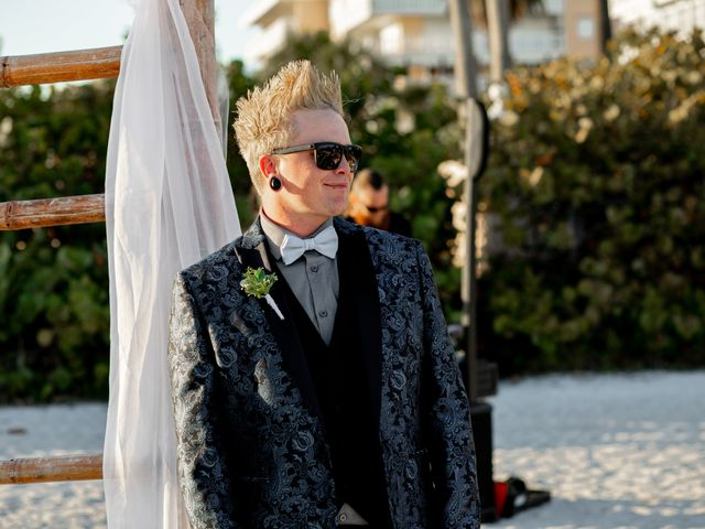 Justin and Hillary's Wedding in St. Pete Beach, Florida 40