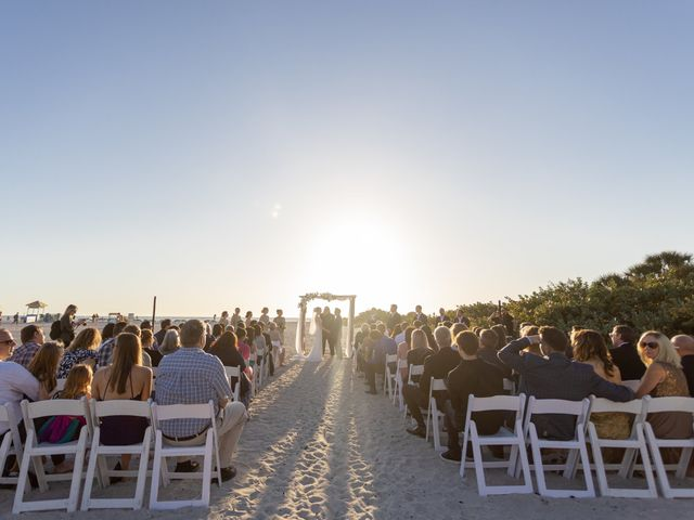 Justin and Hillary's Wedding in St. Pete Beach, Florida 46