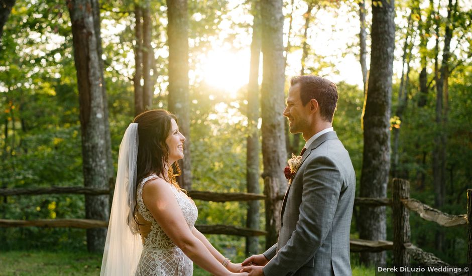 Sean and Wendy's Wedding in Topton, North Carolina