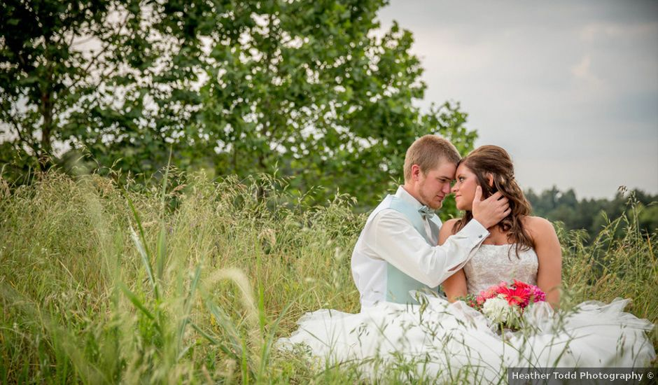 Carrie and Blake's Wedding in Mayfield, Kentucky