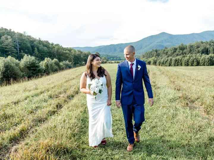 The wedding of Kristina and Trey