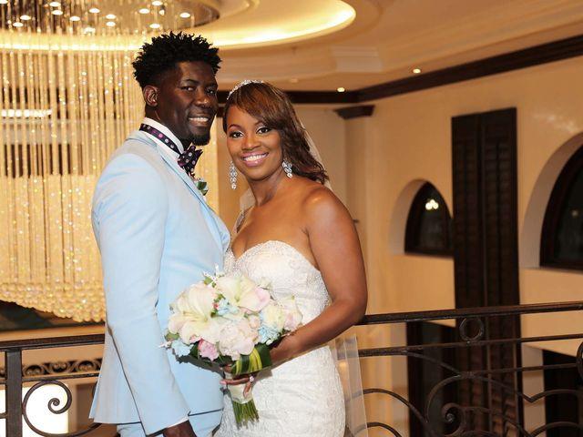 The wedding of Lenisha and Ian
