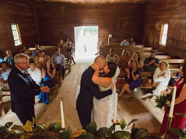 Trey and Kristina's Wedding in Townsend, Tennessee 1