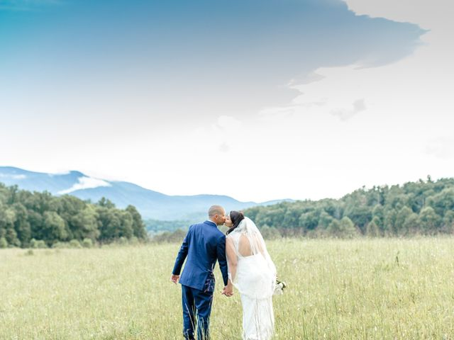 Trey and Kristina's Wedding in Townsend, Tennessee 2