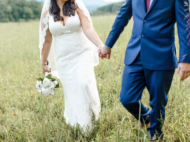 Trey and Kristina's Wedding in Townsend, Tennessee 4