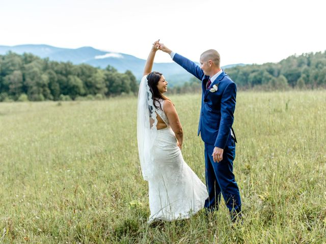 Trey and Kristina's Wedding in Townsend, Tennessee 5