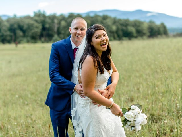Trey and Kristina's Wedding in Townsend, Tennessee 6