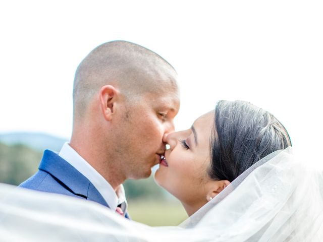Trey and Kristina's Wedding in Townsend, Tennessee 7