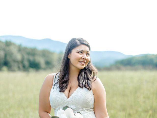 Trey and Kristina's Wedding in Townsend, Tennessee 9