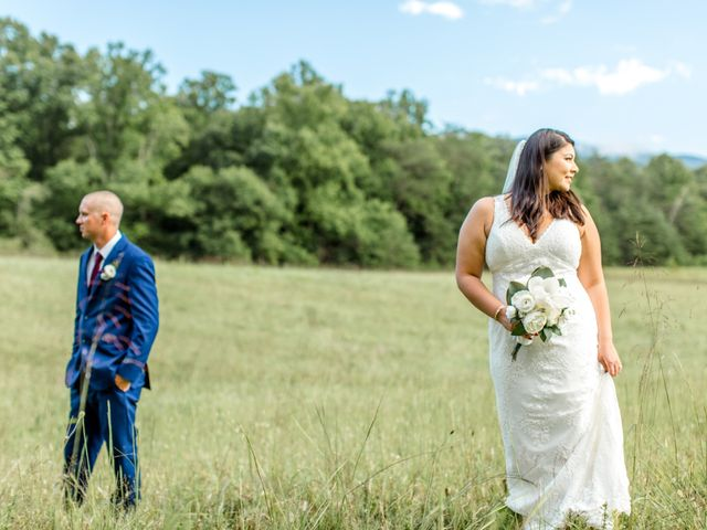 Trey and Kristina's Wedding in Townsend, Tennessee 11