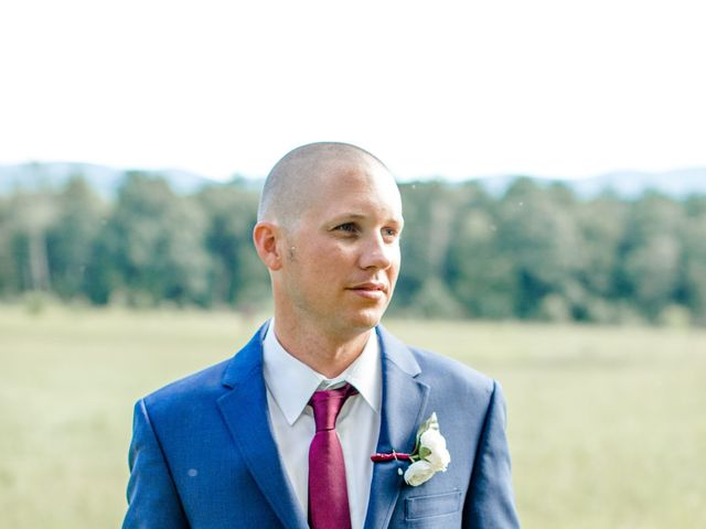 Trey and Kristina's Wedding in Townsend, Tennessee 12
