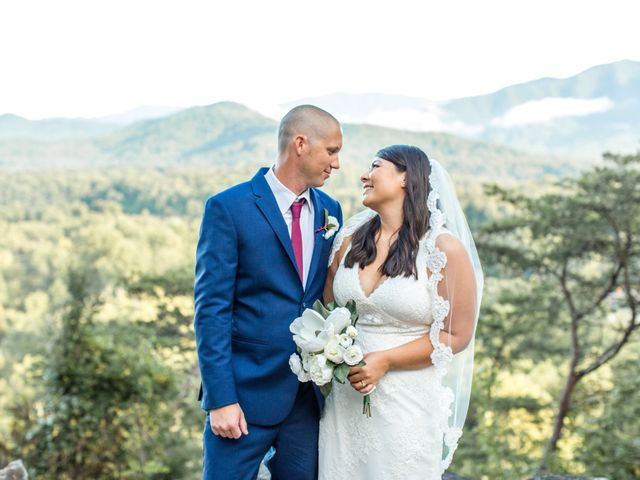 Trey and Kristina's Wedding in Townsend, Tennessee 24