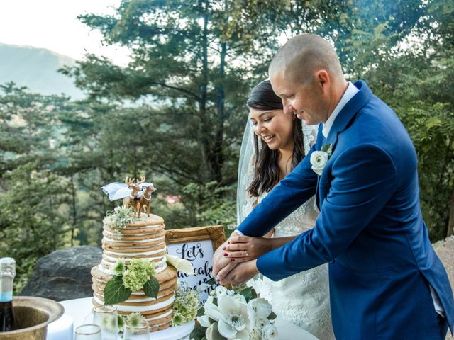 Trey and Kristina's Wedding in Townsend, Tennessee 25