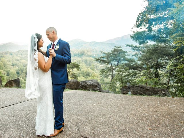 Trey and Kristina's Wedding in Townsend, Tennessee 26