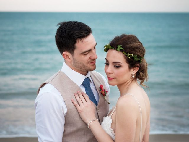 The wedding of Tania and Piero