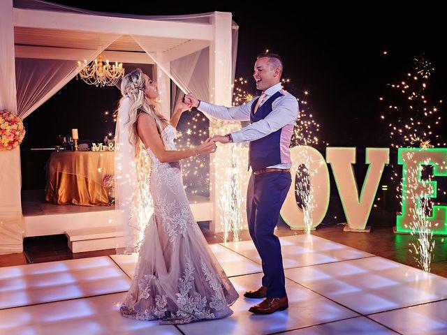 Ben and Lona's Wedding in Playa del Carmen, Mexico 14