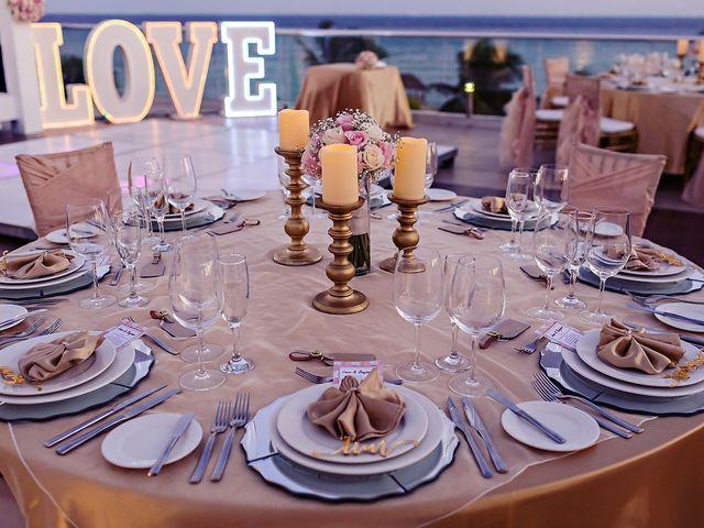 Ben and Lona's Wedding in Playa del Carmen, Mexico 22