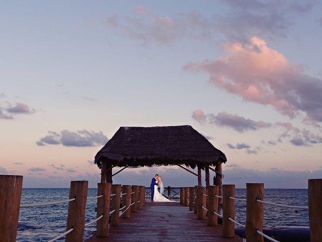 Ben and Lona's Wedding in Playa del Carmen, Mexico 29