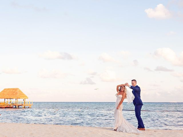 Ben and Lona's Wedding in Playa del Carmen, Mexico 37