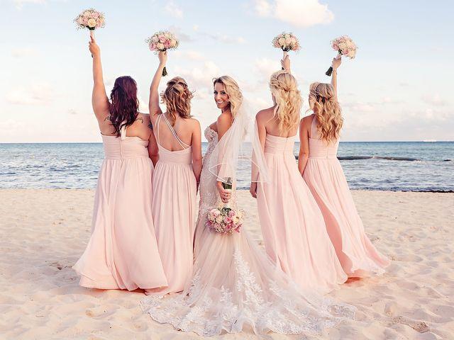 Ben and Lona's Wedding in Playa del Carmen, Mexico 40