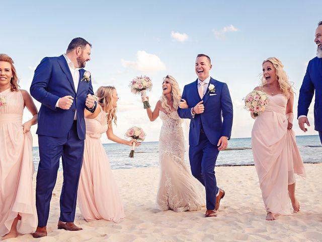 Ben and Lona's Wedding in Playa del Carmen, Mexico 41
