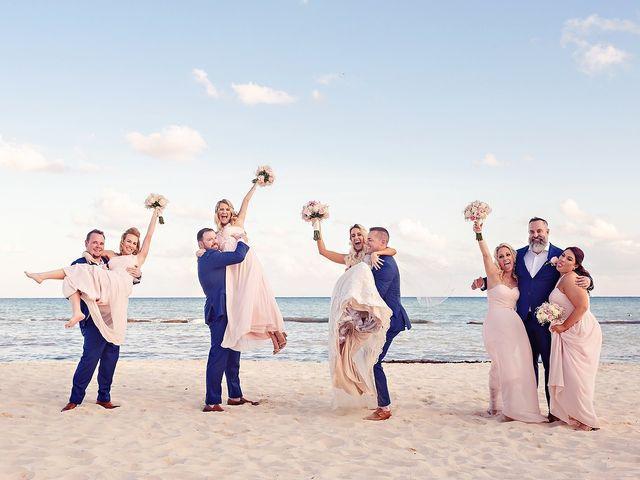 Ben and Lona's Wedding in Playa del Carmen, Mexico 42