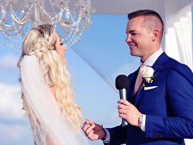 Ben and Lona's Wedding in Playa del Carmen, Mexico 51