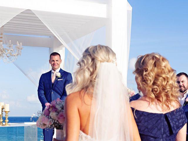 Ben and Lona's Wedding in Playa del Carmen, Mexico 54