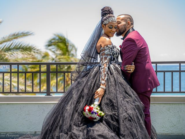 Shanel and Shawn's Wedding in Fort Lauderdale, Florida 9