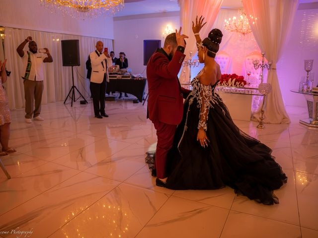 Shanel and Shawn's Wedding in Fort Lauderdale, Florida 11