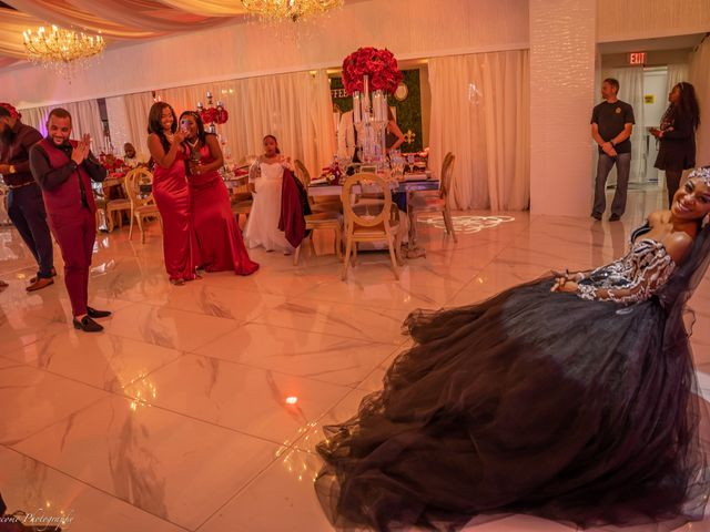 Shanel and Shawn's Wedding in Fort Lauderdale, Florida 16