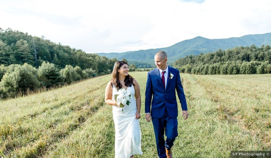 Trey and Kristina's Wedding in Townsend, Tennessee