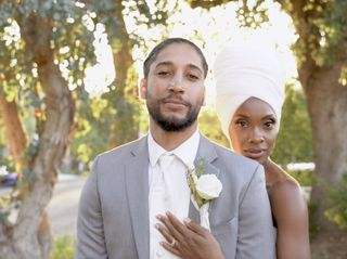 The wedding of Joseph and Jamila 2