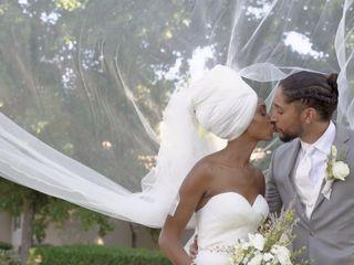 The wedding of Joseph and Jamila