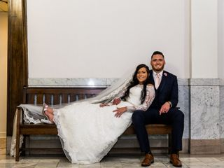 The wedding of Alexandria and Brandon