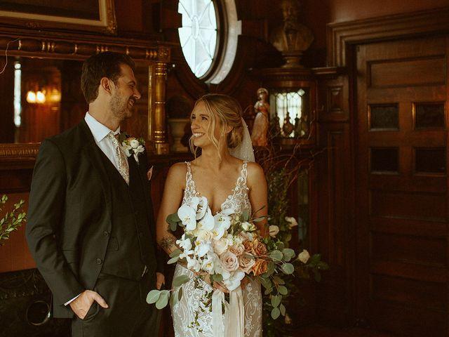 The wedding of Cayleen and Matthew