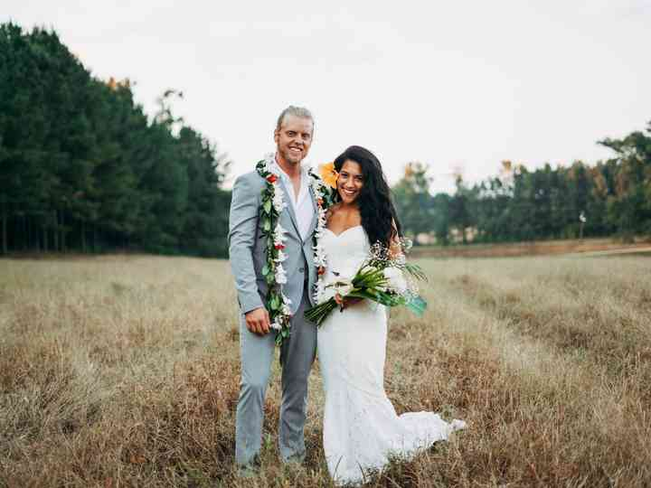 The wedding of Shanelle and Josh