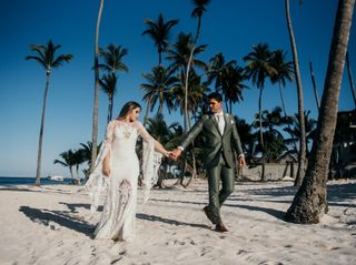 The wedding of Genevieve and Andrew