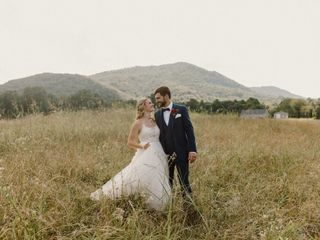 The wedding of Josh and Abigail