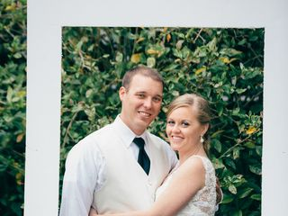 The wedding of Andrew and Leeann