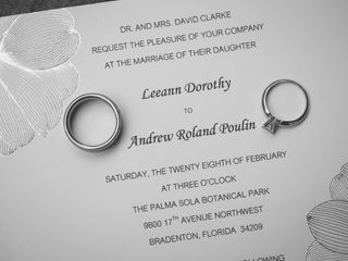 The wedding of Andrew and Leeann 2